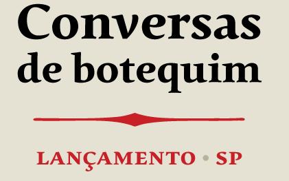 """b_arco recebe lançamento do livro """"Conversas de Botequim"""""""