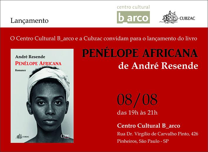 Lançamento do livro Penélope Africana de André Resende