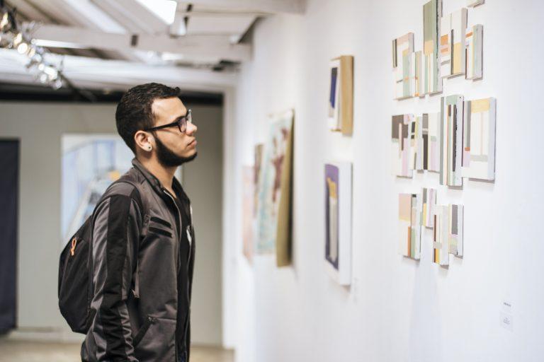 Abertura das exposições de Maura Grimaldi e André Rigatti