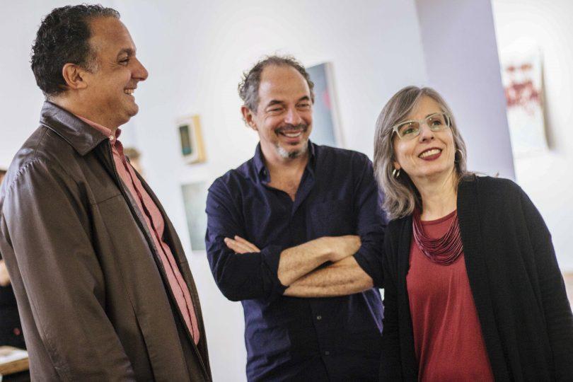 Andréz Hernández, Sergio Spalter e Soraia Dias