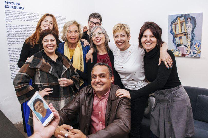 Helana Carvalhosa, Soraia Dias, Luciana Saad, Ana Francisca Martins, Eduardo Dilascio, Andréz Hernández, Suzana Roberta Meslieri e Eduardo Silva